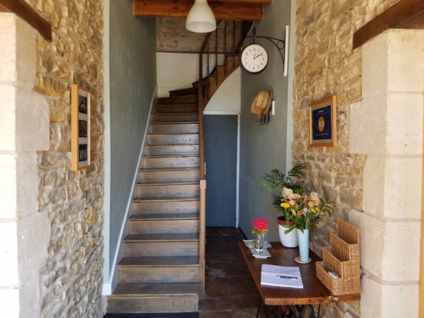 Chambres d_Hotes hallway