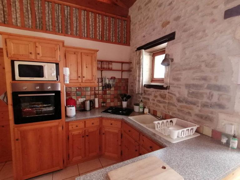 Le Poirier kitchen